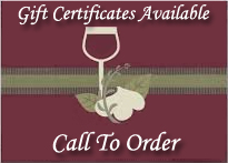 290 Wine Shuttle has gift certificates Call to Order