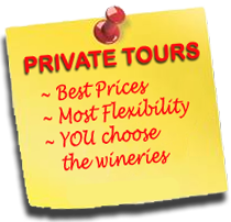 Private 290 Wine Shuttle Tours
